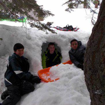 Snow camping, Silver Lake 2/24-2/25
