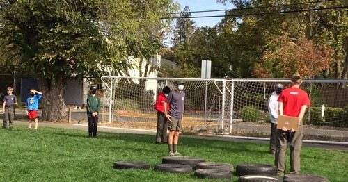 Camporee and Camping