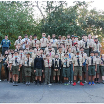 JOINT CAMPFIRE WITH TROOP 200, 444 & 277